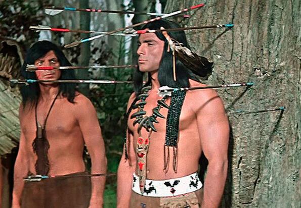 Защо във всички филми индианците нямат бради?