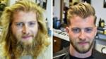 Преди и след подстрижката!