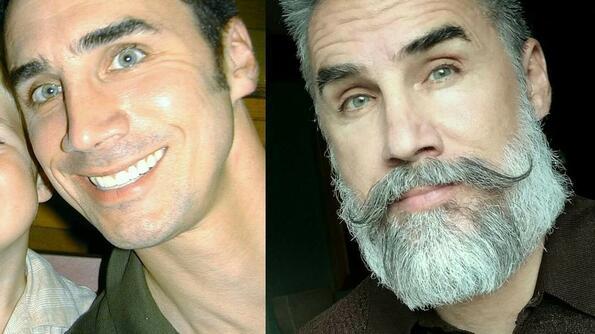 Как брадата променя мъжа: невероятни снимки