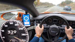 Да караш с Bentley 329 км/ч