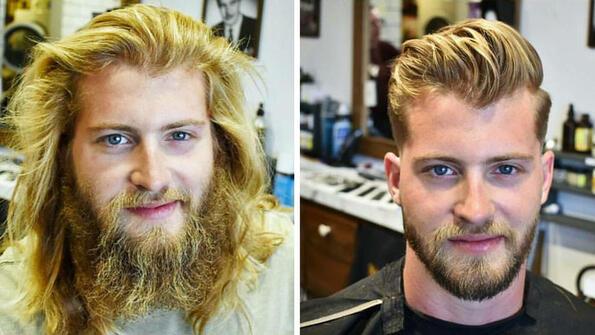 Снимки, които доказват, че прическата изцяло променя мъжа
