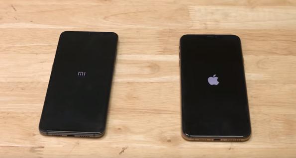 Xiaomi Mi 9 срещу iPhone XS Max: тест за скорост