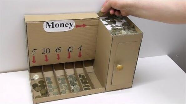 Направи си сам машинка за броене на монети