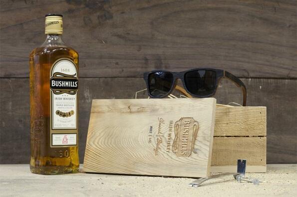 Очила с дъх на уиски