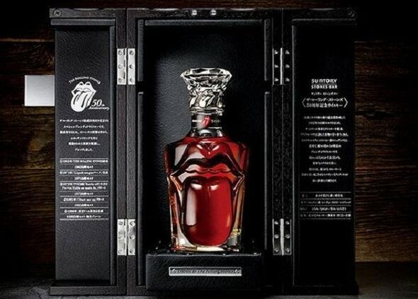 Безбожно скъпото уиски на Rolling Stones