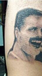 Най-грозните татуировки на портрети върху човешко тяло