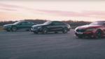 BMW 840d срещу Mercedes E400d и Audi A8 50 TDI: драг гонка